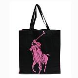 폴로랄프로렌 에코백 빅포니 가방 블랙(핑크) 숄더백 Polo 정품 국내배송