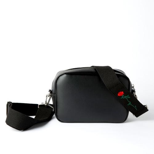 [옐로우스톤] 가죽 크로스백 LEATHER STRAP BAG -YS2076BP 블랙