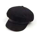 [씨루틴]CROUTINE - newsboy cap (Black) 뉴스보이캡 빵모자 헌팅캡