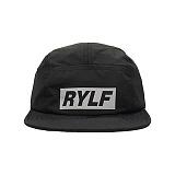 [블프특가][로얄라이프] ROYALLIFE RLBC106 3M 레플렉티브 박스 로고 캠프 캡 - 블랙