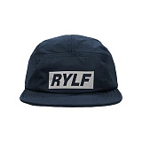 [블프특가][로얄라이프] ROYALLIFE RLBC106 3M 레플렉티브 박스 로고 캠프 캡 - 네이비