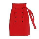 [참스]CHARMS Classic button skirt RE 클래식 버튼 스커트 치마