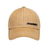 [참스]CHARMS Basic stitch ball cap BE 스티치 볼캡 야구모자