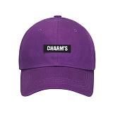 [참스]CHARMS Basic logo cap PU 볼캡 야구모자