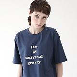 [에이피오13] 그래비티 루즈핏 반팔 티셔츠 APOTS003-DG