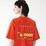 [에이피오13]  에이피오13 틱톡 반팔 티셔츠 APOTS004-OR