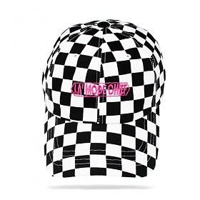 [라모드치프]LAMODECHIEF - LA.C-LAMODE BALL CAP(black check) 체크 볼캡 야구모자