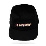 [라모드치프]LAMODECHIEF - LA.C-FLAME CAMP CAP(black) 캠프캡
