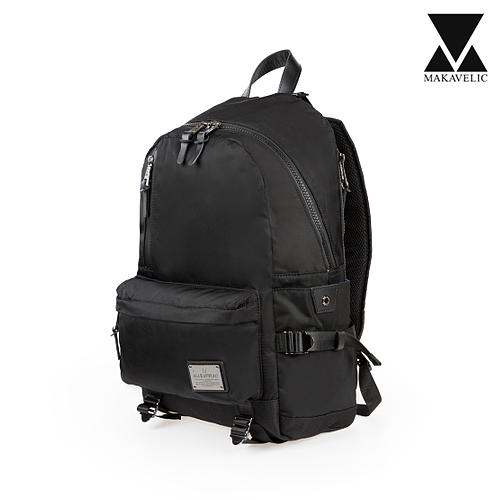 [마카벨릭]MAKAVELIC - SUPERIORITY FUNDAMENTAL DAYBAG (BLACK) 백팩 배낭 가방