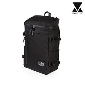 [단독판매][마카벨릭]MAKAVELIC - RECTANGLE DAYPACK (BLACK) 백팩 배낭 가방