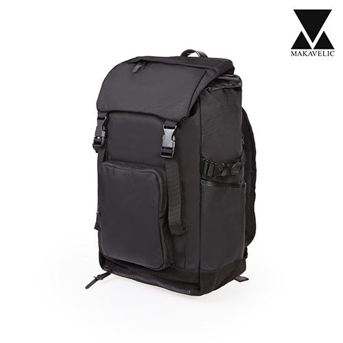 [마카벨릭]MAKAVELIC - B511 BACKPACK (BLACK) 레인커버 포함 백팩 배낭 가방