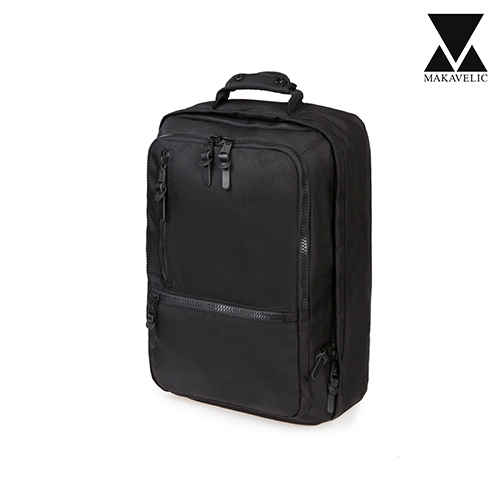 [마카벨릭]MAKAVELIC - B710 BACKPACK (BLACK) 백팩 배낭 크로스백 가방