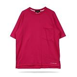 [라모드치프]LAMODECHIEF - LA.C POKET TEE(pink) 포켓 반팔티