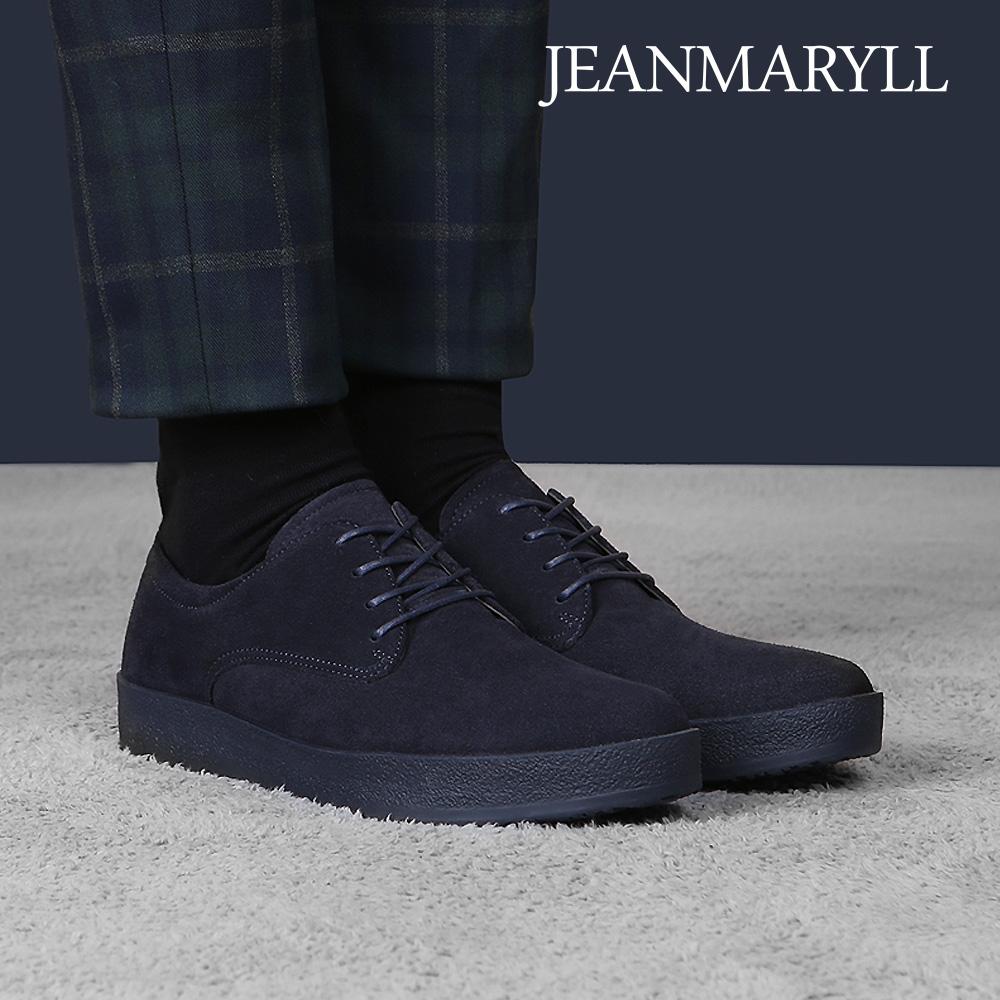 [장마릴]신발/구두/천연소가죽/남성캐주얼/컴포트화 JM009 네이비