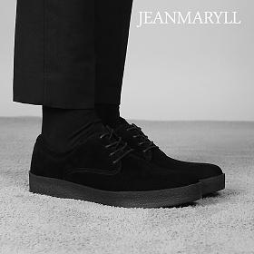 [장마릴]신발/구두/천연소가죽/남성캐주얼/컴포트화 JM009 블랙