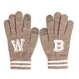 와일드브릭스 - WB TOUCH GLOVES (beige) 터치장갑