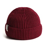 PLATEAU - STORY S LABEL BEANIE_RED 비니