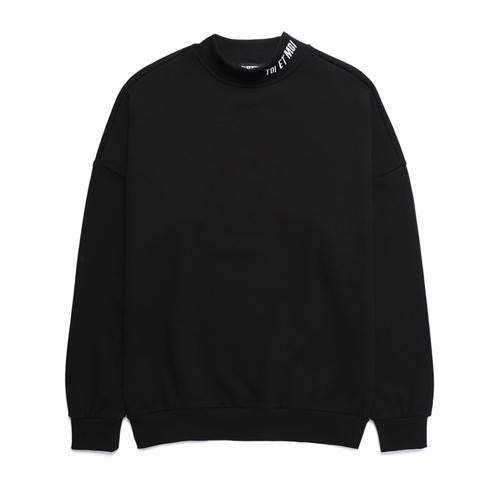 밴웍스 반폴라 오버핏 스웨트셔츠 블랙 (VNAGTS318)
