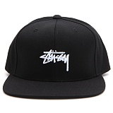 [스투시]STOCK CAP (BLACK) [131761-BLAC] 스냅백
