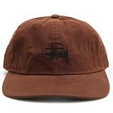 [스투시]WAX COTTON LOW PRO CAP(RUST)[131774-RUST] 캠프캡