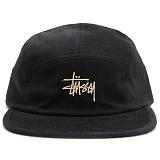 [스투시]STOCK LOGO CAMP CAP (BLACK) [132869-BLAC] 캠프캡