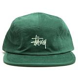 [스투시]STOCK LOGO CAMP CAP (GREEN) [132869-GREN] 캠프캡