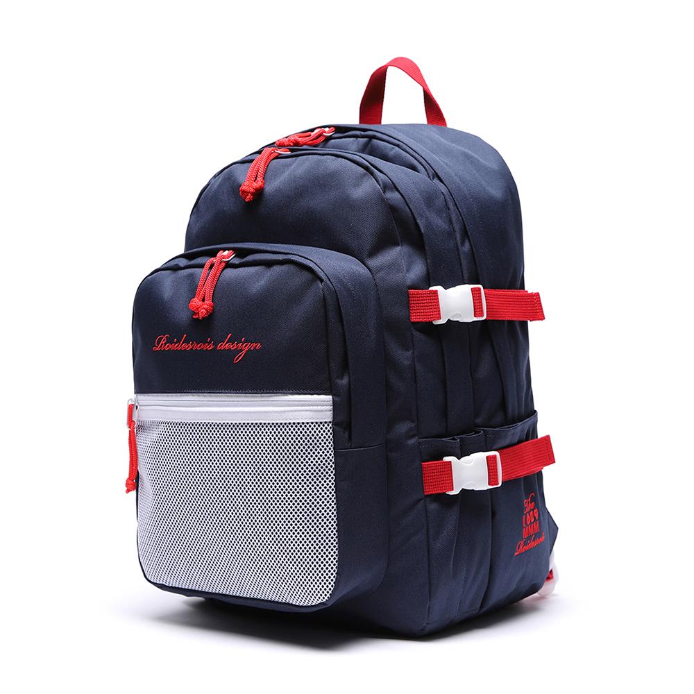 [로아드로아] OH OOPS BACKPACK (NAVY/RED) 백팩 가방 오웁스백팩