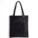 [옐로우스톤] 숄더백 SUEDE POCKET BAG - YS2080BK /BLACK 스웨이드 포켓 에코백