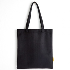 [옐로우스톤] 숄더백 SUEDE ECOBAG - YS2079BK /BLACK 스웨이드 포켓 에코백