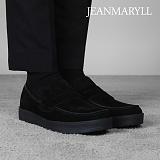 [장마릴]신발/구두/천연소가죽/남성캐주얼/컴포트화 JM010 블랙