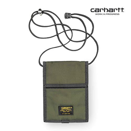 [칼하트WIP] CARHARTT WIP - Military Neck Pouch (Rover Green) 밀리터리 넥 파우치 사코슈