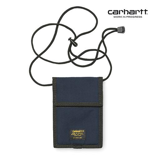 [칼하트WIP] CARHARTT WIP - Military Neck Pouch (Navy) 밀리터리 넥 파우치 사코슈