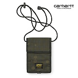 [칼하트WIP] CARHARTT WIP - Military Neck Pouch (Camo Night Combat Green) 밀리터리 넥 파우치