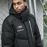 [블프특가][예약판매 12/6±3일][넥워머증정][훼르자]FUERZA 모에트 에어론 롱패딩 Black 스포츠의류