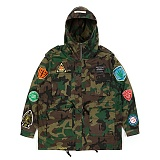 STIGMA - FAITH OVERSIZED FIELD JACKET CAMOUFLAGE 필드자켓 M65