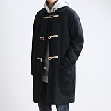 [쟈니웨스트] JHONNYWEST - Winter Duffel Coat (Black) 더플코트