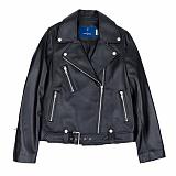 [슬로우유니버스] (WOMAN) lambskin type-1 rider jacket (Black) 양가죽 라이더자켓 재킷