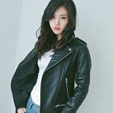 [슬로우유니버스] (WOMAN) lambskin type-2 rider jacket (Black) 양가죽 라이더자켓 재킷