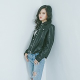 [슬로우유니버스] (WOMAN) lambskin type-101 trucker jacket (Black) 양가죽 트러커자켓 재킷