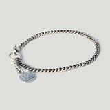 [러쉬오프] RUSHOFF [Unisex] Vintage Medal Silver Bracelet / 빈티지 메달 은팔찌