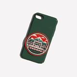 [러쉬오프] RUSHOFF Budapest Patch Phonecase - Green / 부타패스트 패치  그린 아이폰 폰케이스