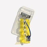 [러쉬오프] RUSHOFF Kitsch Yellow Keyring Phonecase 키치 엘로우 키링 아이폰 폰케이스
