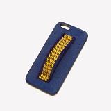 [러쉬오프] RUSHOFF Zigzag Holding Belt Phonecase - Blue / 지그재그 홀딩 벨트 블루 아이폰 폰케이스