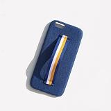 [러쉬오프] RUSHOFF Stripe Holding Belt Phonecase - Blue 스트라이프 홀딩 벨트 블루 아이폰 폰케이스