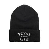[로얄라이프] ROYALLIFE RLBC107 1992 비니 - 블랙