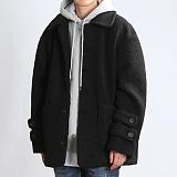 [쟈니웨스트] JHONNYWEST - Dumpy Winter Coat (Black) 윈터 코트