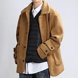 [쟈니웨스트] JHONNYWEST - Dumpy Winter Coat (Camel) 윈터 코트
