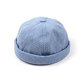 [웨이워드]WAYWARD - Stripe watch cap[Blue] 와치캡 챙없는 캡없는 모자 비니