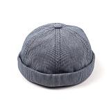 [웨이워드]WAYWARD - Stripe watch cap[Black] 와치캡 챙없는 캡없는 모자 비니