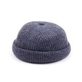 [웨이워드]WAYWARD - Nnit watch cap[Gray] 와치캡 챙없는 캡없는 모자 비니